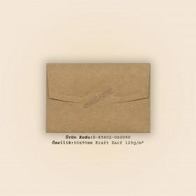 6x9cm Kraft Zarf 125gr/m²