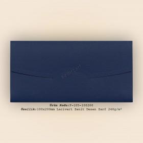 10x20cm Lacivert Zenit Desen Zarf 240gr/m²