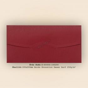 10x20cm Bordo Evocation Desen Zarf 250gr/m²