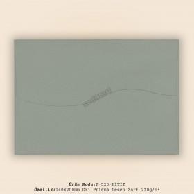 14x20cm Gri Prisma Desen Zarf 220gr/m²