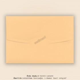 14x20cm Yavruağzı 1.Hamur Zarf 160gr/m²