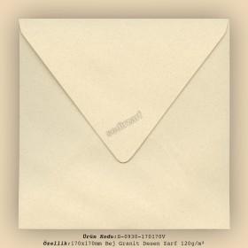 17x17cm Bej Granit Desen Zarf 120gr/m²