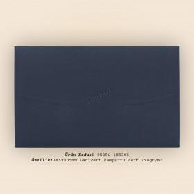 18,5x30,5cm Lacivert Paspartu Zarf 250gr/m²