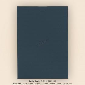 20x14cm Yeşil Diabolo Prisma Desen Zarf 250gr/m² Kapaksız